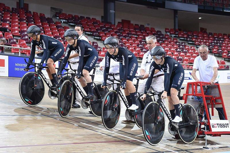 One of Southern Spars projects outside the marine industry was to design and develop newer faster wheels for the NZ Track Cycling team - photo © Southern Spars