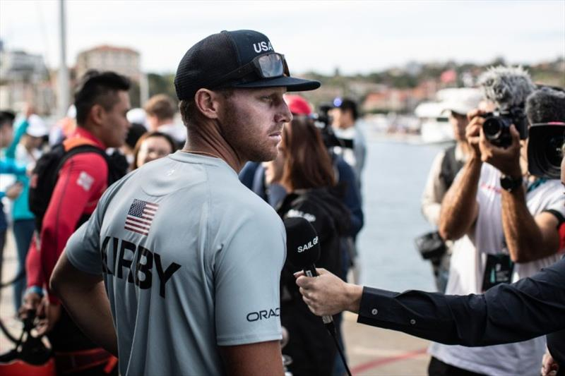 United States SailGP team at Sydney SailGP - photo © Matt Knighton / SailGP