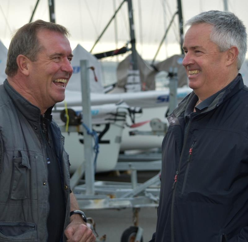 Sailability Tasmania sailor Craig Escott and Stephen Catchpool - photo © Jane Austin