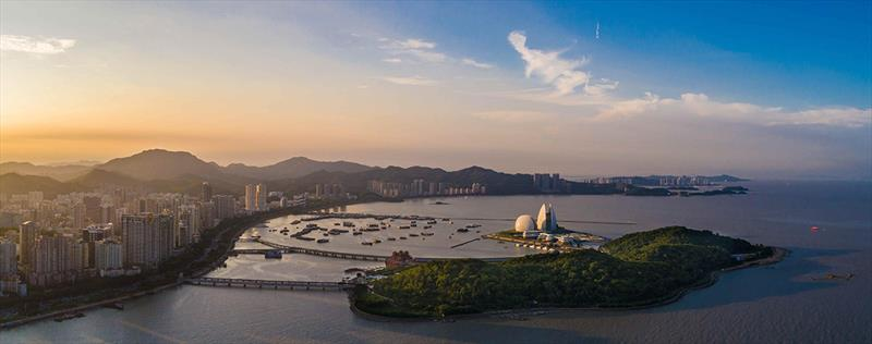 Zhuhai Opera House - Clipper 2019-20 Race - photo © Clipper Race