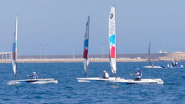 RS Aero - Day 2- Single handed Dinghy Trials - Valencia, Spain - photo © Richard Gladwell