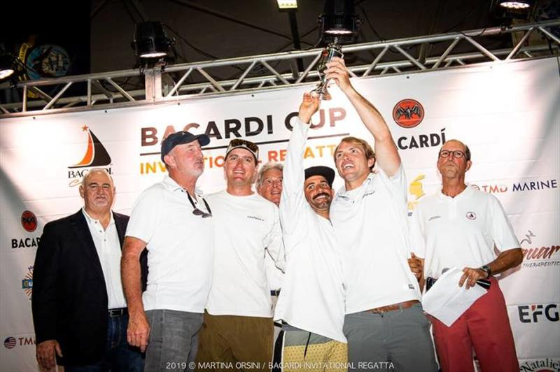 Team Catapult - Bacardi J/70 Winter Series at Bacardi Cup Invitational Regatta photo copyright Martina Orsini taken at Coral Reef Yacht Club
