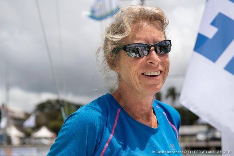 Moving up to the IMOCA class, Miranda Merron will be racing with Halvard Mabire on Campagne de France - Rolex Fastnet Race photo copyright Olivier Blanchet / GPO / Defi Atlantique 2019 taken at Royal Ocean Racing Club
