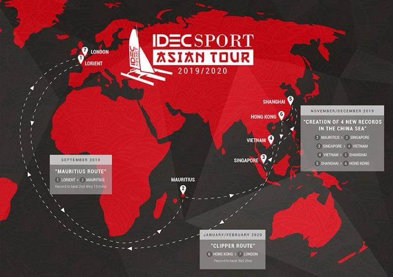 2019-2020 IDEC Sport Asian Tour - photo © IDEC Sport