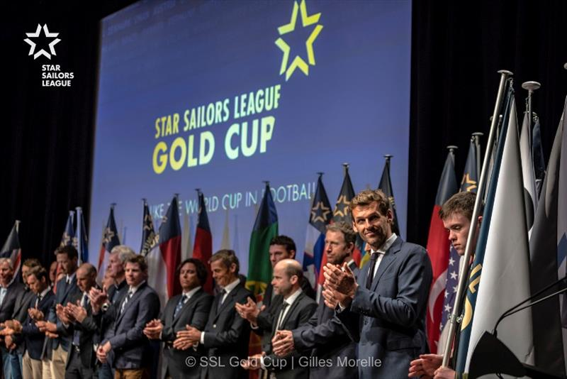 Star Sailors League Gold Cup presentation - photo © Gilles Morelle / Star Sailors League
