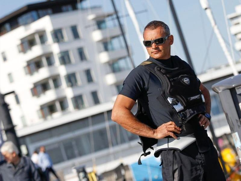Yann Guichard (FRA), Spindrift Racing - GKSS Match Cup Sweden 2018 - photo © Event Media
