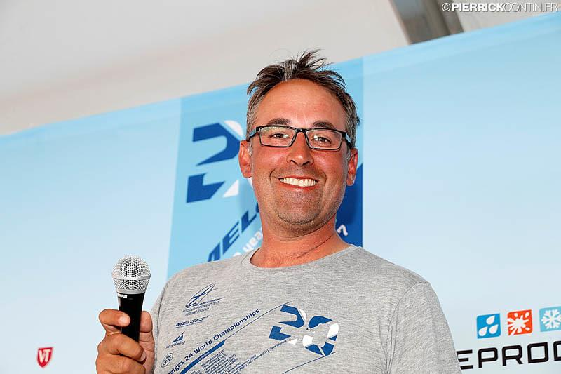 Past IM24CA Championship Coordinator for Europe Benedek Fluck from Hungary. - photo © Pierrick Contin