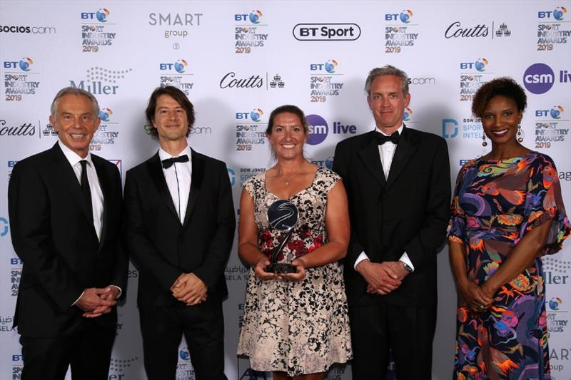The Ocean Race wins two prestigious global sport industry awards - photo © Getty Images for Sport Industry Group
