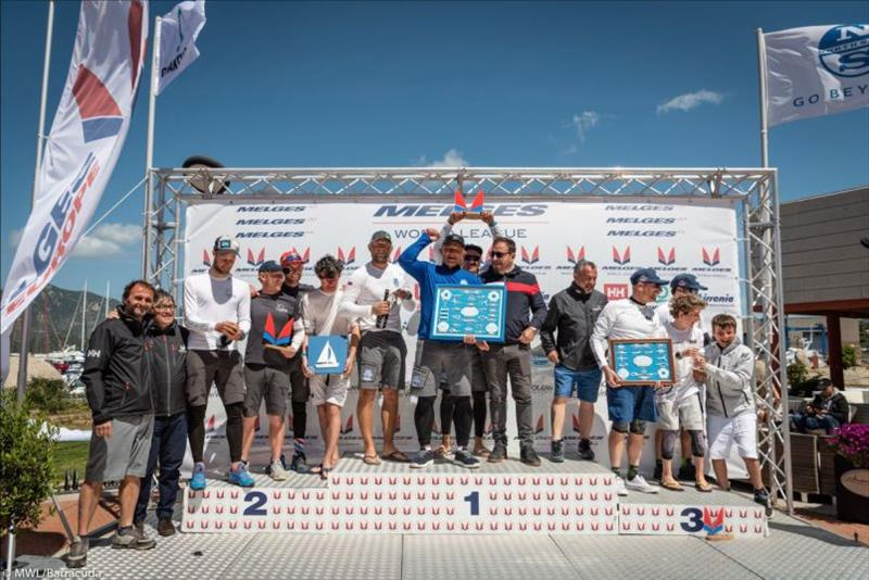 2019 Melges 20 World League - European Division Leg 1, Villasimius - Day 3 - photo © Melges World League / Barracuda Communication