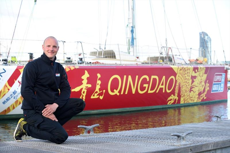 Essex Skipper Chris Brooks will lead Qingdao in the Clipper Round the World Yacht Race - photo © Clipper Ventures