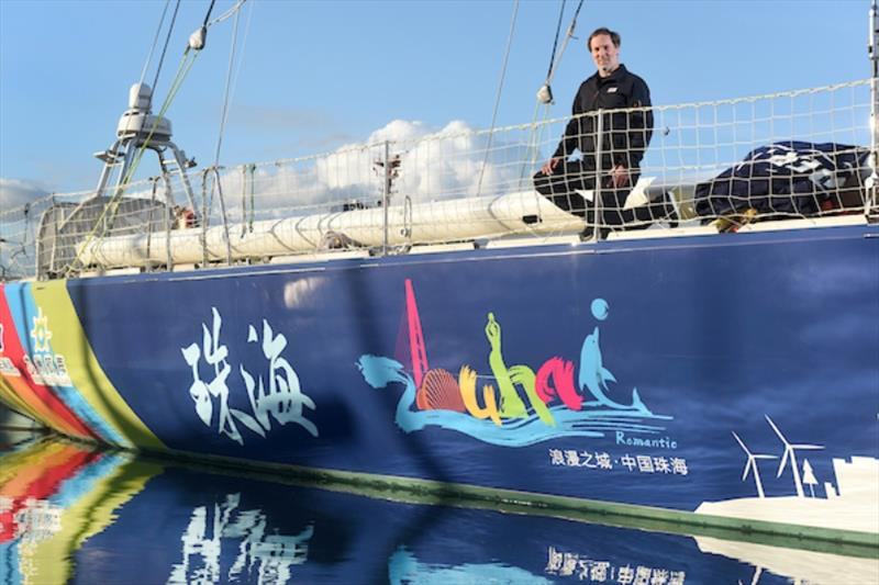 South African Skipper Nick Leggatt will lead Zhuhai in the Clipper Round the World Yacht Race - photo © Clipper Ventures