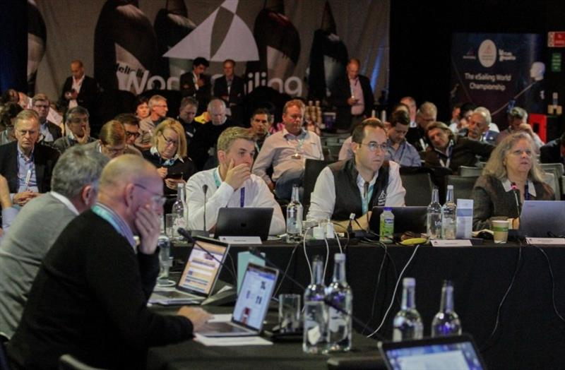 World Sailing's Equipment Committee at the 2019 Mid-Year Meeting - photo © World Sailing