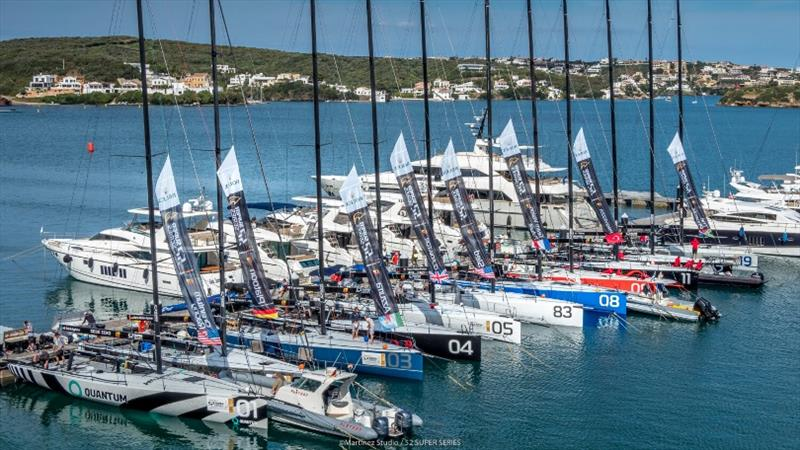 52 Super Series homes in on food waste and fuel consumption - photo © Nico Martinez / 52 Super Series