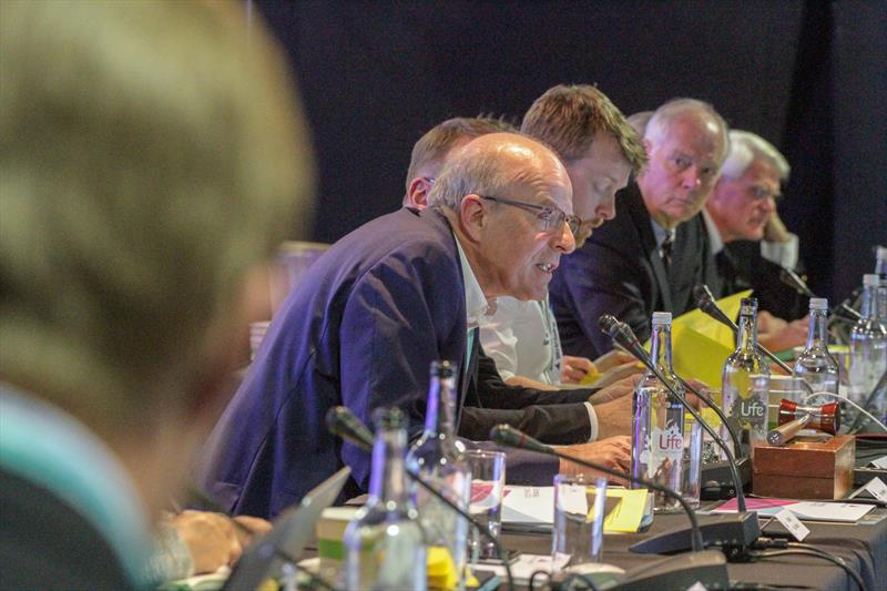 The meeting of World Sailing's Council at the Mid-Year Meeting in London, Great Britain on Sunday 19 May. - photo © Daniel Smith