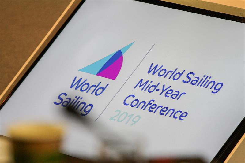 The meeting of World Sailing;s Council at the Mid-Year Meeting in London, Great Britain on Sunday 19 May. - photo © Daniel Smith