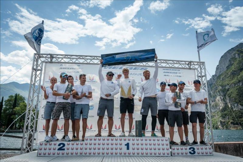 Russian Bogatyrs winners - 2019 Melges 20 World League European Division - photo © Melges World League / Barracuda Communication