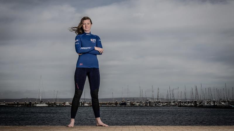 GBR's Hannah Snellgrove says she's targeting a top ten finish