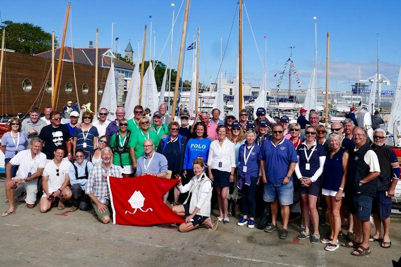 Trearddur Bay Sailing Club members travelling to the Volvo Dun Laoghaire Regatta  - photo © TBSC