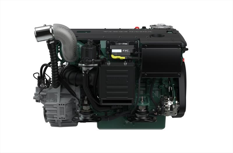 Volvo Penta's new generation D4 and D6 marine engines power big