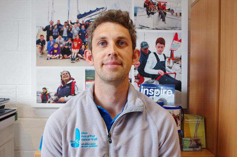 Ellen MacArthur Cancer Trust announce James Hall as new Operations Manager in Largs