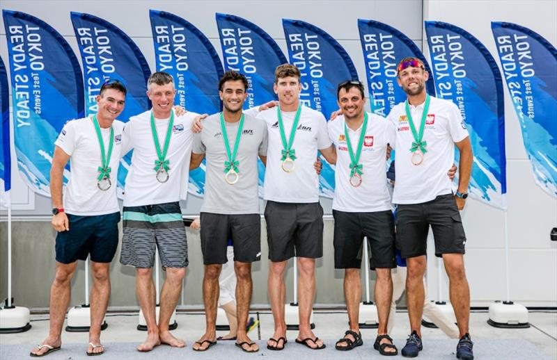 Rio 2016 Skiff Gold Medalists secure victory at Ready Steady Tokyo Olympic Test Event