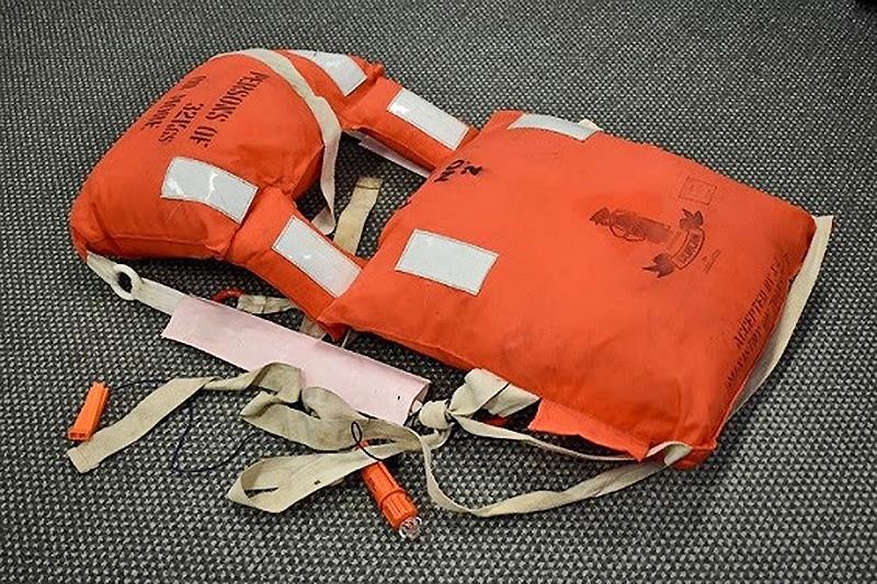AMSA safety alert - Kapok lifejackets