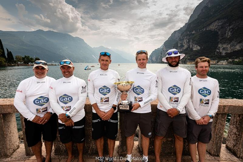 Ian Williams' GAC Pindar crew are winners of the 2019 M32 European Series. - photo © Drew Malcolm / M32 World