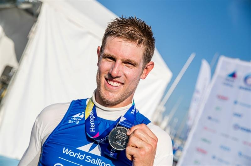 Matt Wearn won silver in Laser - Hempel World Cup Series Enoshima, day 6 - photo © Jesus Renedo / Sailing Energy / World Sailing