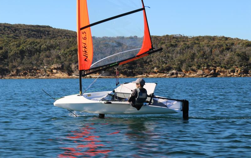 New foiling dinghy designed for lighter weight and female sailors