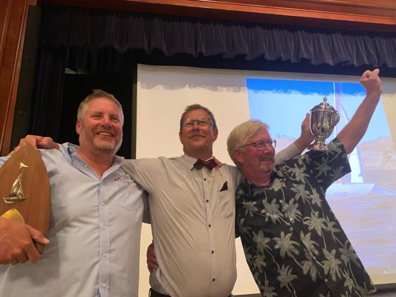 Winners - Soren Kaestel's Danish team (DEN 873) - Folkboat International Cup 2019 - photo © Gemma Osgood