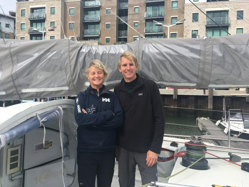 Pip Hare announces co-skipper for Transat Jacques Vabre