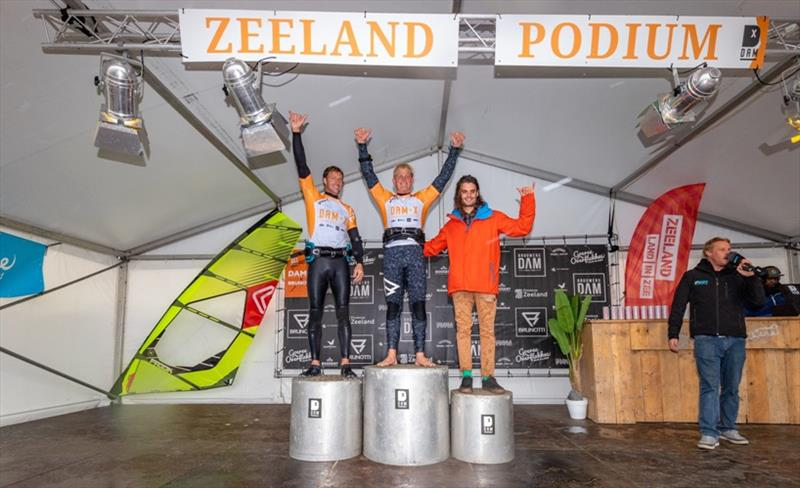 The top three men after the double - DAM-X 2019, Day 3 - photo © Chantale Pottgens / DAM-X.com
