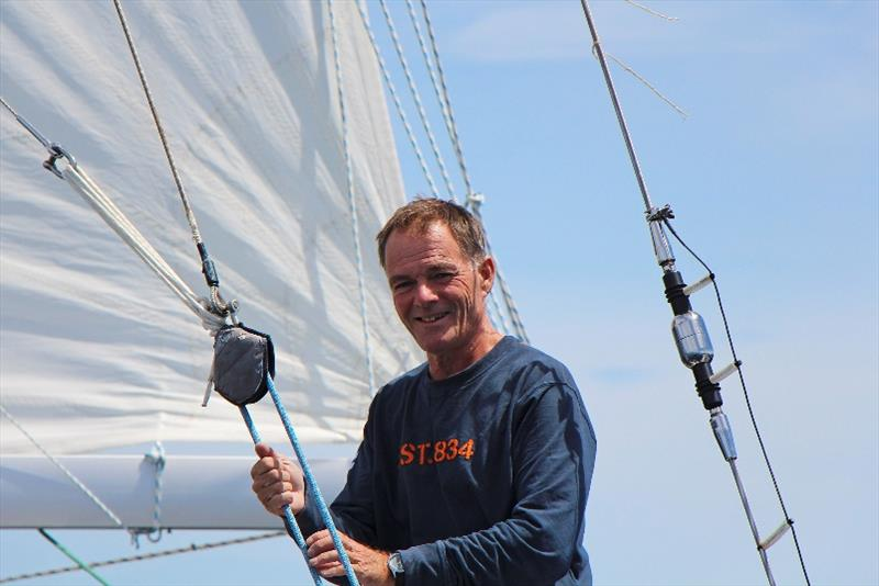 Finland's Tapio Lehtinen who has signed up to compete in both the 2022 Golden Globe Race and the 2023 Ocean Globe Race. photo copyright Peter Foerthmann / Windpilot and Les Gallagher / Fishpics / PPL taken at
