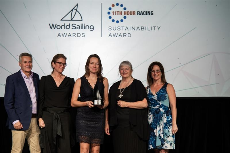 RYA wins World Sailing 11th Hour Racing Sustainability Award in Bermuda - photo © RYA