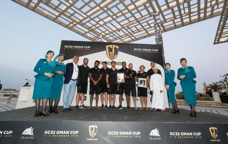Team Oman Air finishes second overall - GC32 Racing Tour Oman Cup - photo © Lloyd Images