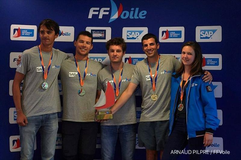 APCC Voile Sportive crowned French J/70 Sailing League champions - photo © Arnaud Pilpre / FFVoile