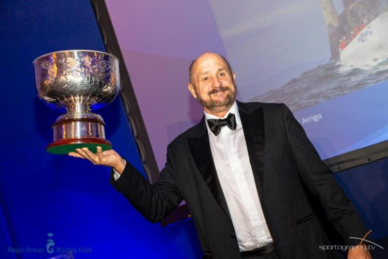 RORC Yacht of the Year - Wizard, Peter & David Askew's Volvo Open 70 (USA) - photo © Sportography.tv