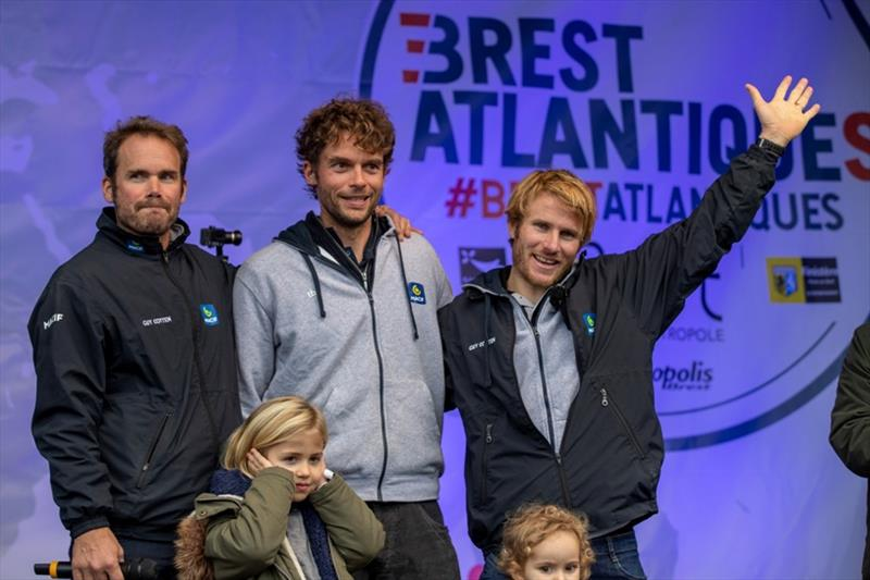 François Gabart and Gwénolé Gahinet took second place in Brest Atlantiques - photo © Alexis Courcoux / Brest Atlantiques