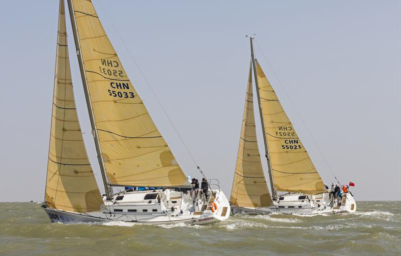 To reef or not to reef? Macao Cup International & Greater Bay Area Cup Regattas 2020. - photo © Guy Nowell
