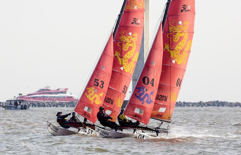 International Catamaran Invitational, Macao Cup International & Greater Bay Area Cup Regattas 2020. - photo © Guy Nowell