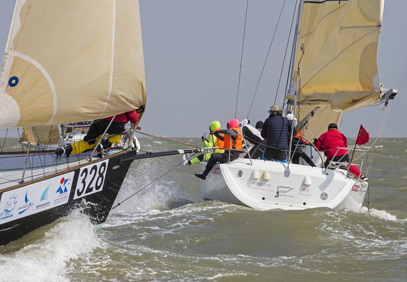 Brown and bouncy. Macao Cup International & Greater Bay Area Cup Regattas 2020. - photo © Guy Nowell