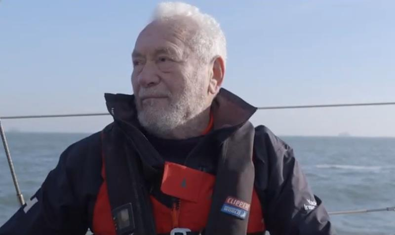 Episode 11 of '80 Seconds with Sir Robin Knox-Johnston': Who Inspires the Inspirational?