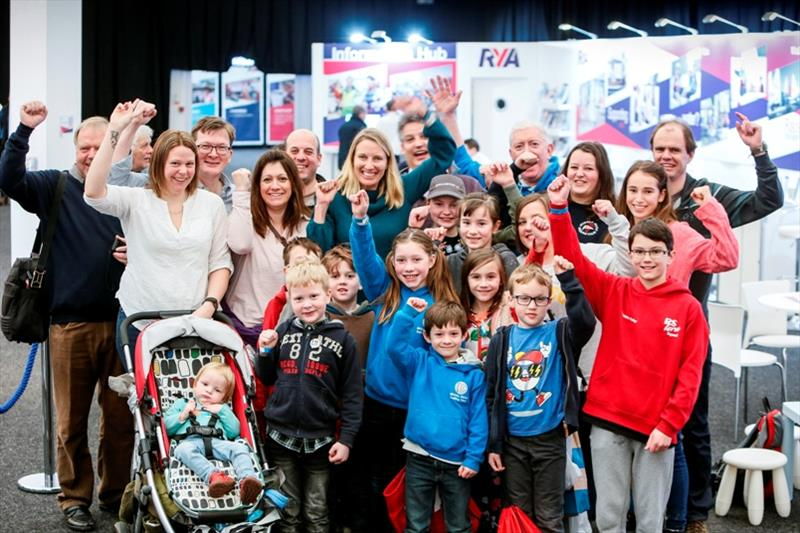 Will your sailing club be at the RYA Dinghy Show?