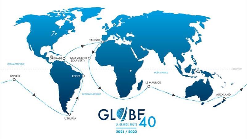 Globe40 La Grande Route - photo © Globe40