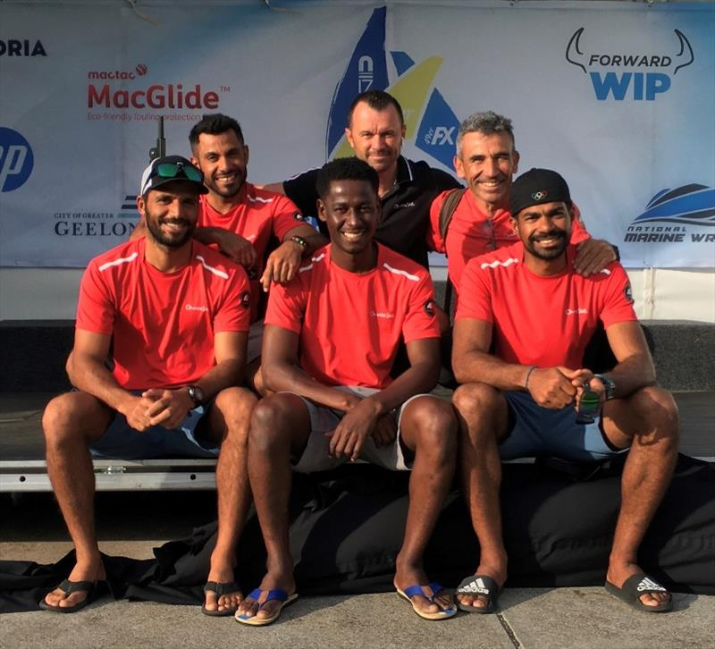 Omani sailors at 2020 World 49er Championship - photo © Oman Sail