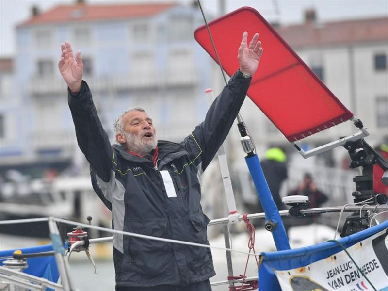 Jean-Luc Van Den Heede wins the 2018 Golden Globe Race - photo © Christian Favereau
