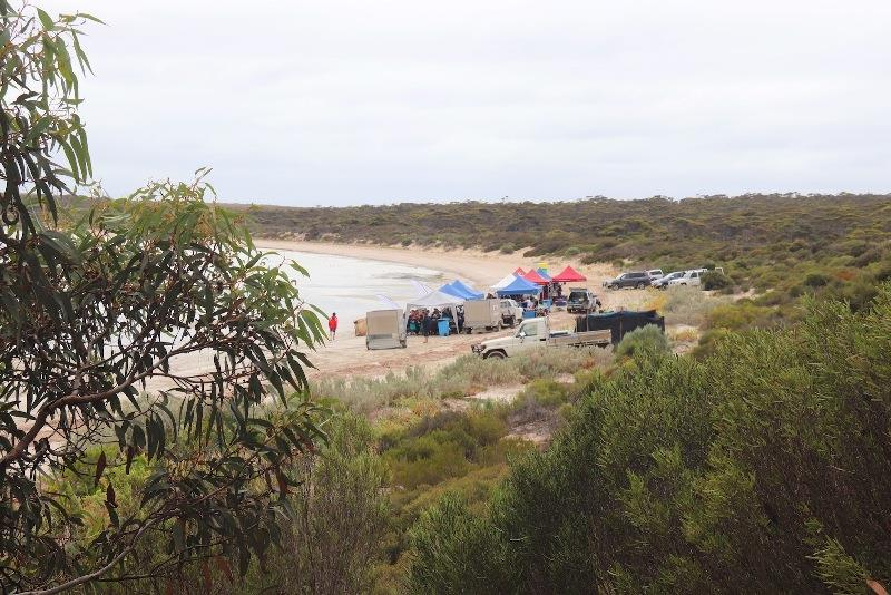 The Megga's BBQ event takes place in the Lincoln National Park - Teakle Classic Lincoln Week Regatta, day 3 - photo © Traci Ayris