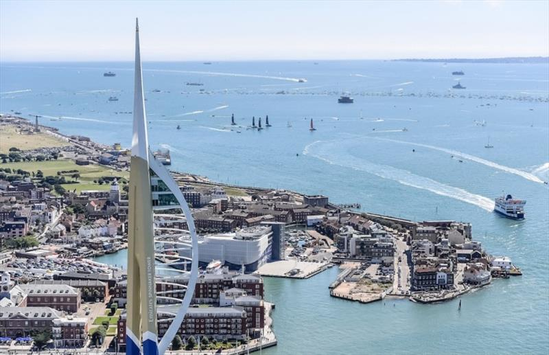 Louis Vuitton America's Cup World Series Portsmouth - photo © Ricardo Pinto