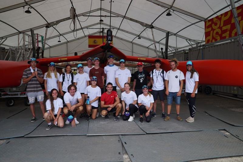 Waszp inspire racing event day 2 at Sydney SailGP - photo © Jordan Roberts / SailGP