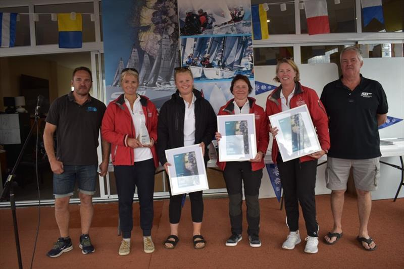 Cook Your Own Dinner - Winner of the women's division - Spring Bay Mill SB20 Australian Championship 2020, final day - photo © Jane Austin